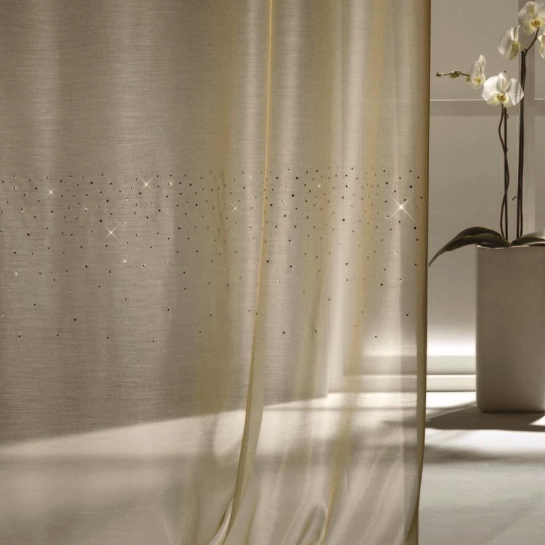 Total Window On Instagram Ado Sheer Fabric With Swarovski Crystal Embellishment Ado Swarovski Crystals Sheer Fabric In 2020 Interior Decorating Home Decor Decor