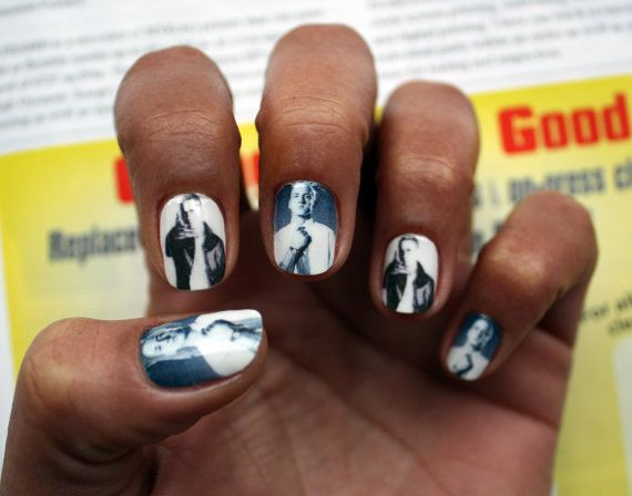 IS THIS REAL LIFE?!?!?! Eminem Nail Art Decals by NailSpin on Etsy ...