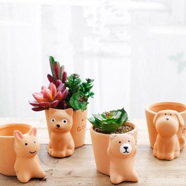Creative Resin Animal Flower Pot Flower Pots Cactus Flower