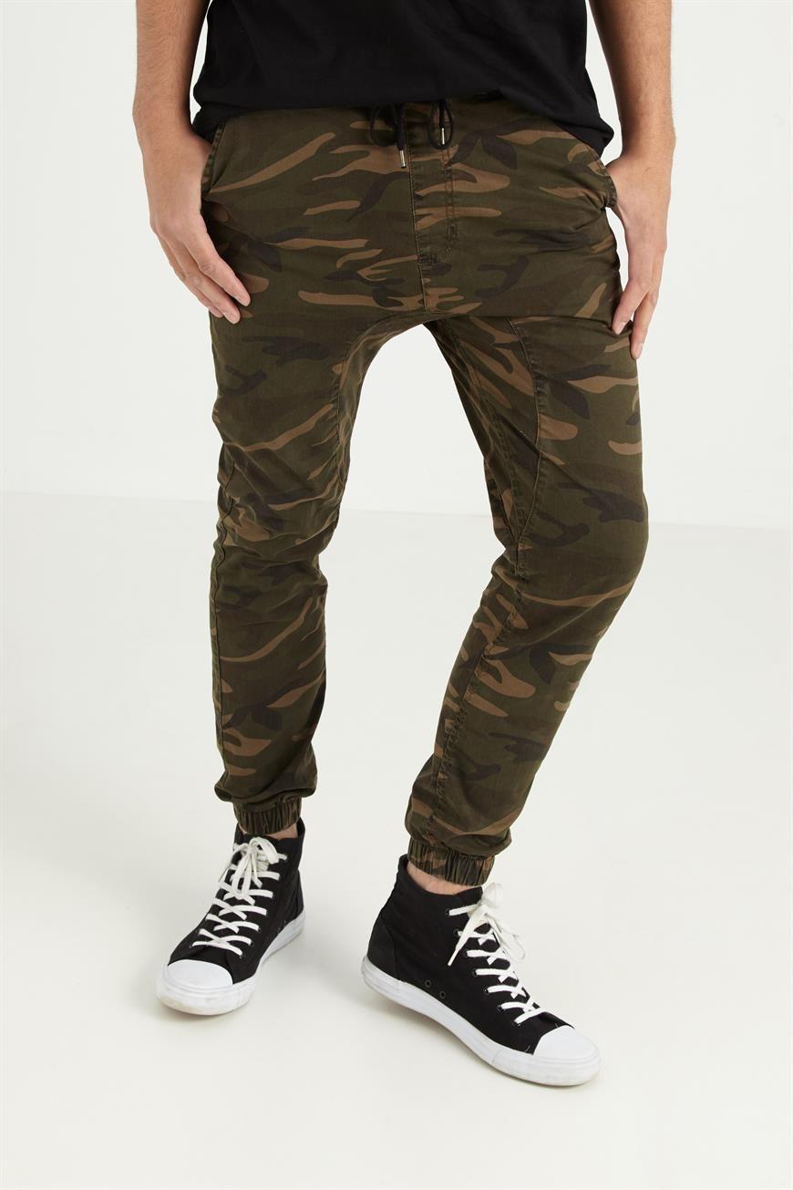 db35a13da34 Cotton:On Drake Cuffed Jogger   Khaki Camo   My Denim/Pants/Shorts ...