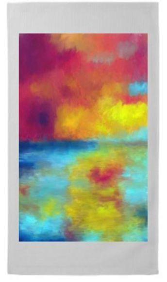 Sunset Waters 45cm x 70cm