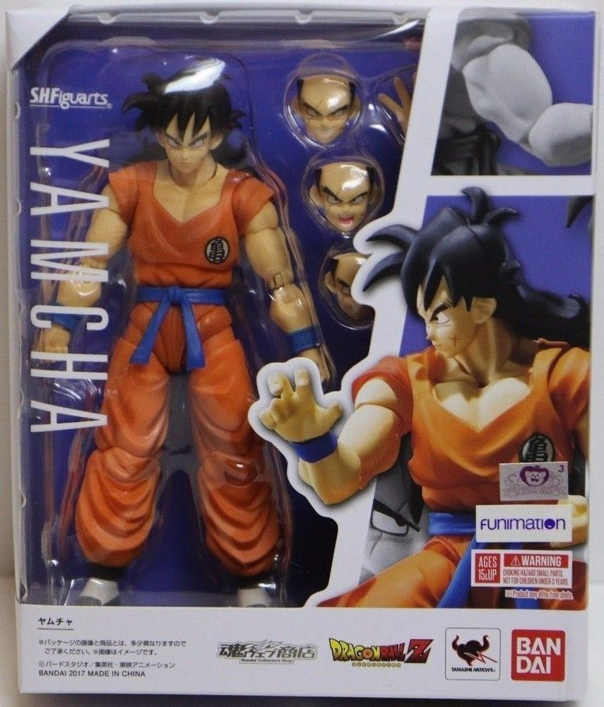 Bandai Dragon Ball Z Yamcha SH FIguarts