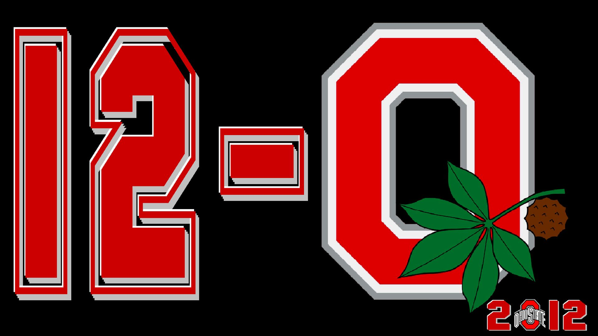 2012 Undefeated season Ohio state football, Ohio state