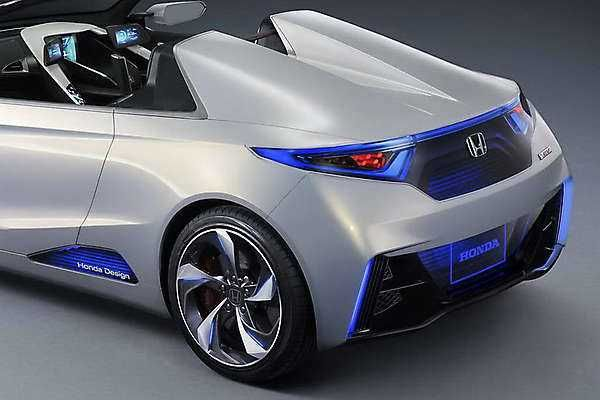 2018 2019 Honda Ev Ster Concept An Electric Sports Car