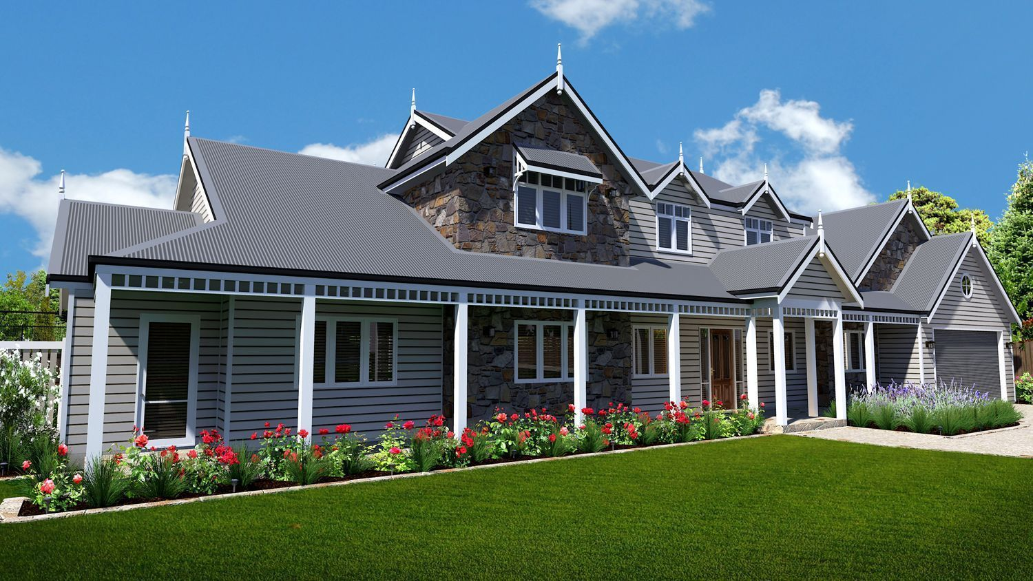 Ascot Manor Dream house plans, House styles, Building a