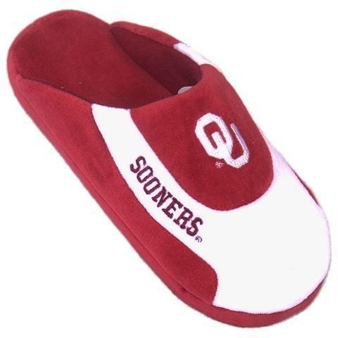 University of Oklahoma Sooners Mens Slippers Bedroom House Shoes ... c754b9a54