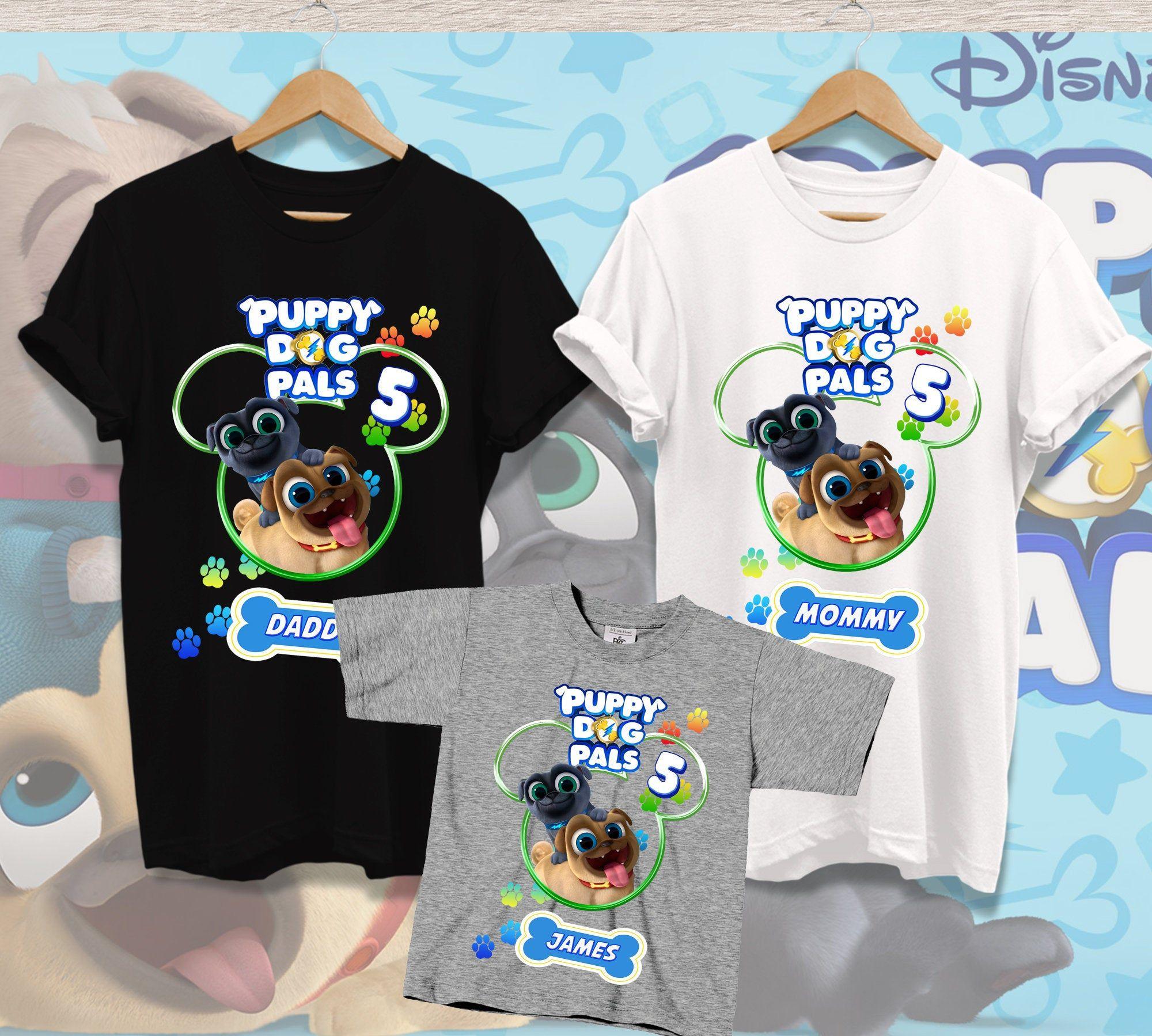 Puppy Dog Pals Birthday Shirts Disney Birthday Shirt Puppy Etsy In 2020 Birthday Shirts Dogs And Puppies Disney Birthday