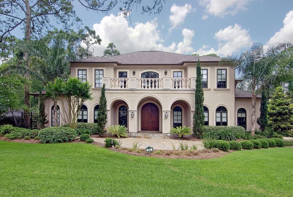 Mediterranean home, Houston, Texas
