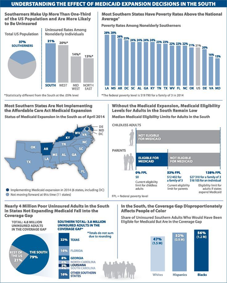 Healthcare Infographic Understanding The Effect Of Medicaid
