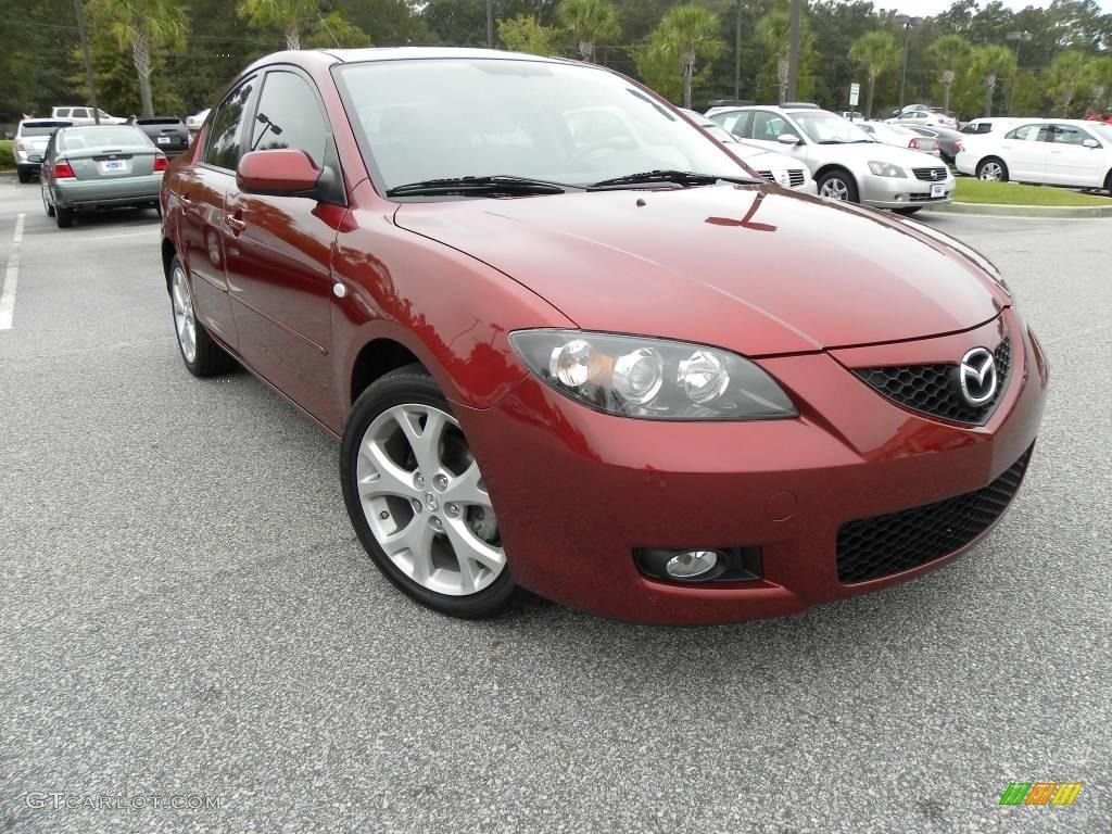 2008 Mazda 3 Copper Mica Red March 2009 Mazda 3 Mazda Bmw