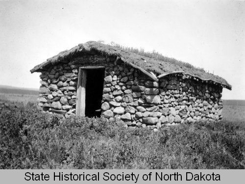 Between 1900 And 1950 Description A Pioneer Era Stone House With A