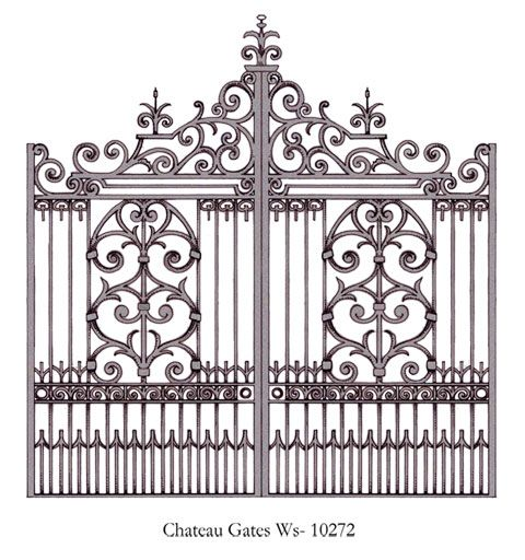 Wrought Iron Gate Wrought Iron Fences Gate Design Wrought Iron Gates