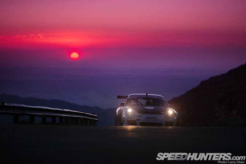 Show me a motorsports event where people accomplish amazing things, I'll show you a Porsche pushing to lead the rest. - Amazing Pikes Peak gallery from Speed Hunters