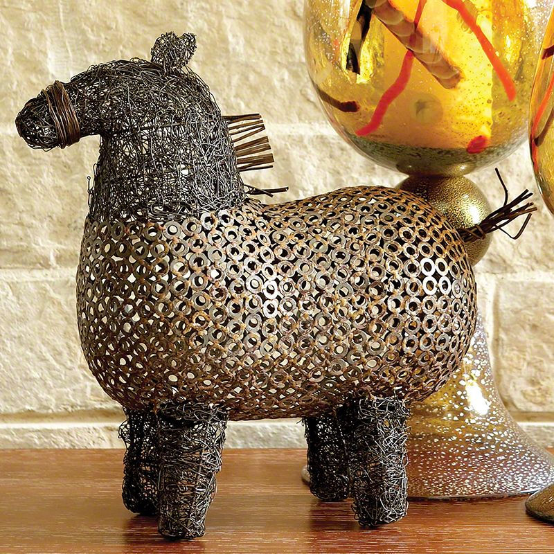 Crazy Fat Pony Sculpture: The Southern Home Featuring French Country U0026  Shabby Chic Home Decor