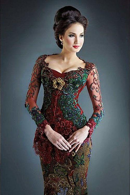 50 Gambar Model Baju Kebaya Pengantin Elegan Dan Modern Setiap