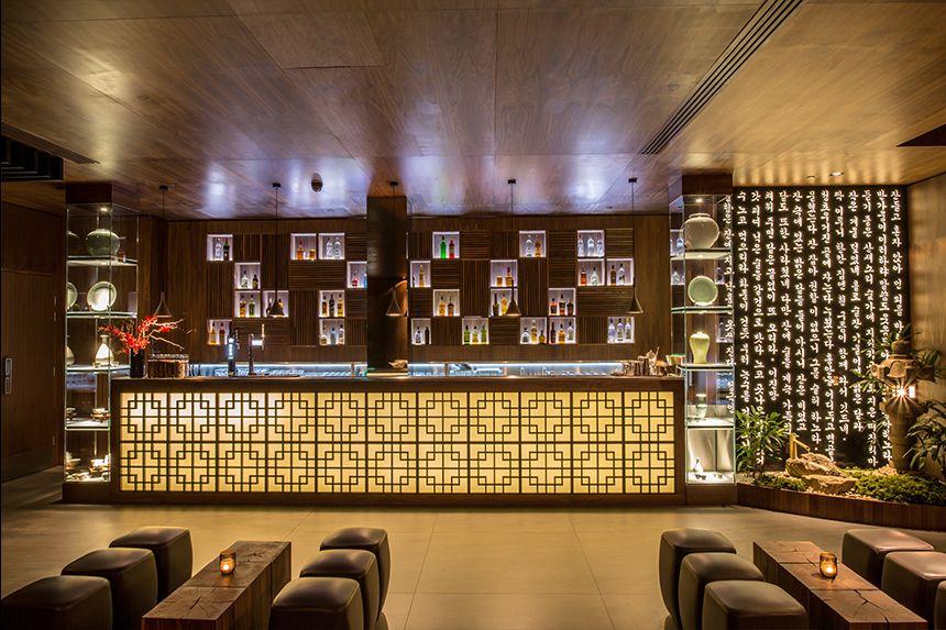 Korean restaurant interior google search