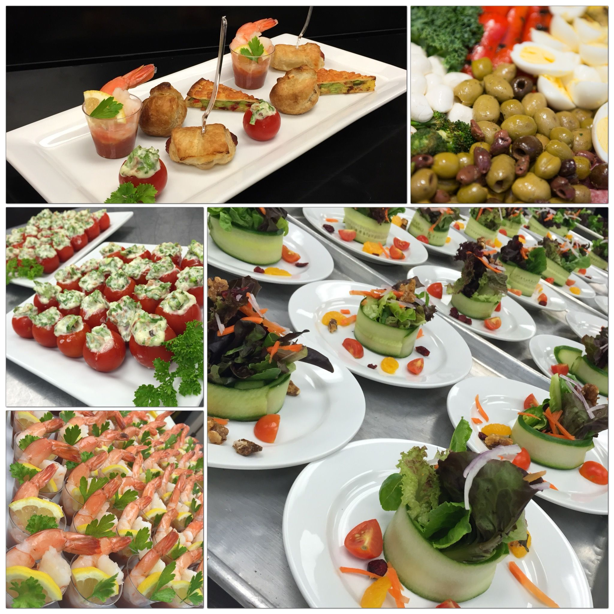 A Little Sample Of Our Catering Menu At The Hilton Garden