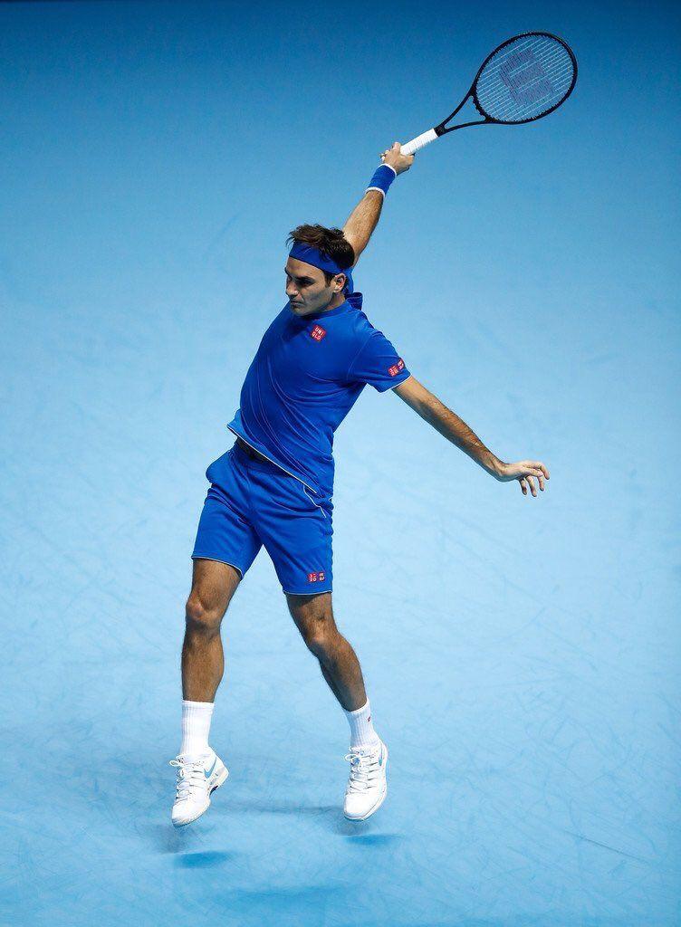 1 Twitter Tennis Roger Federer Tennis Serve