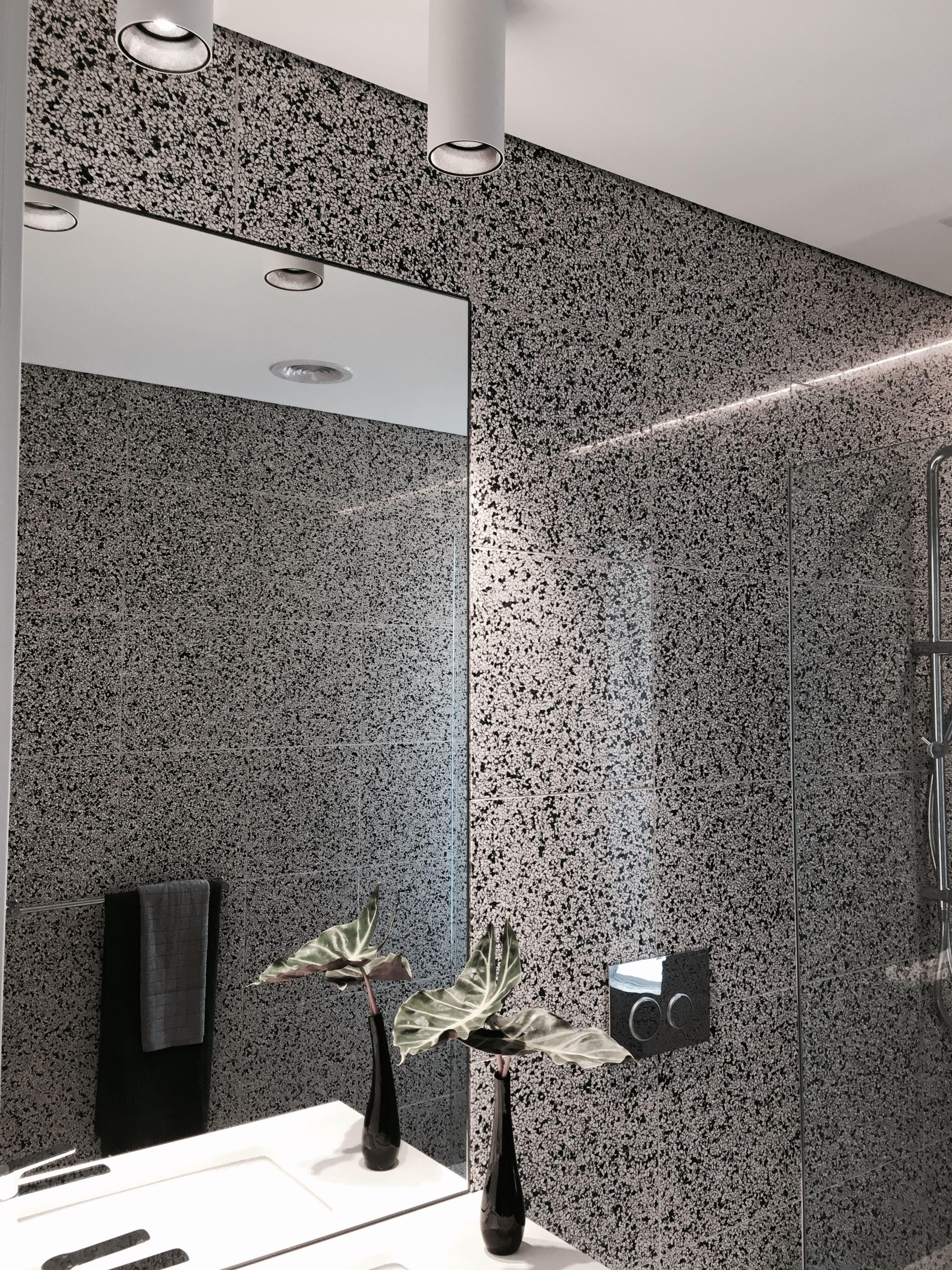 Our Terrazzo Bathroom Floor To Wall Terrazzo Terrazzo