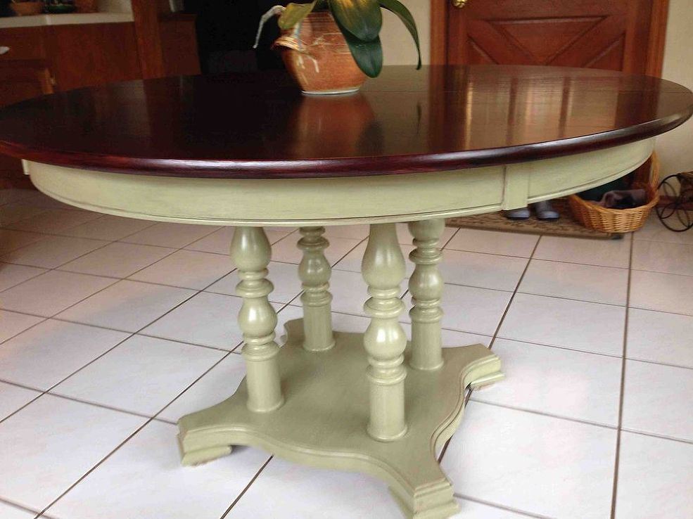 Refinishing A Dining Room Table Furniture Refinishing