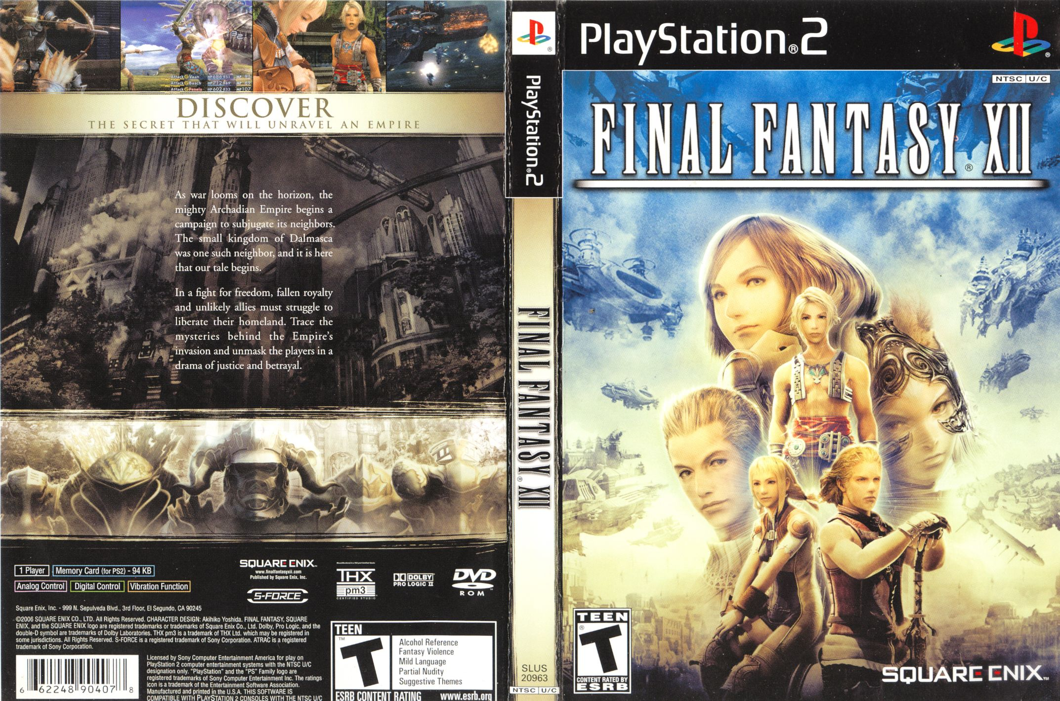 Pin by Kent Lam on GUI (With images) | Final fantasy xii ...