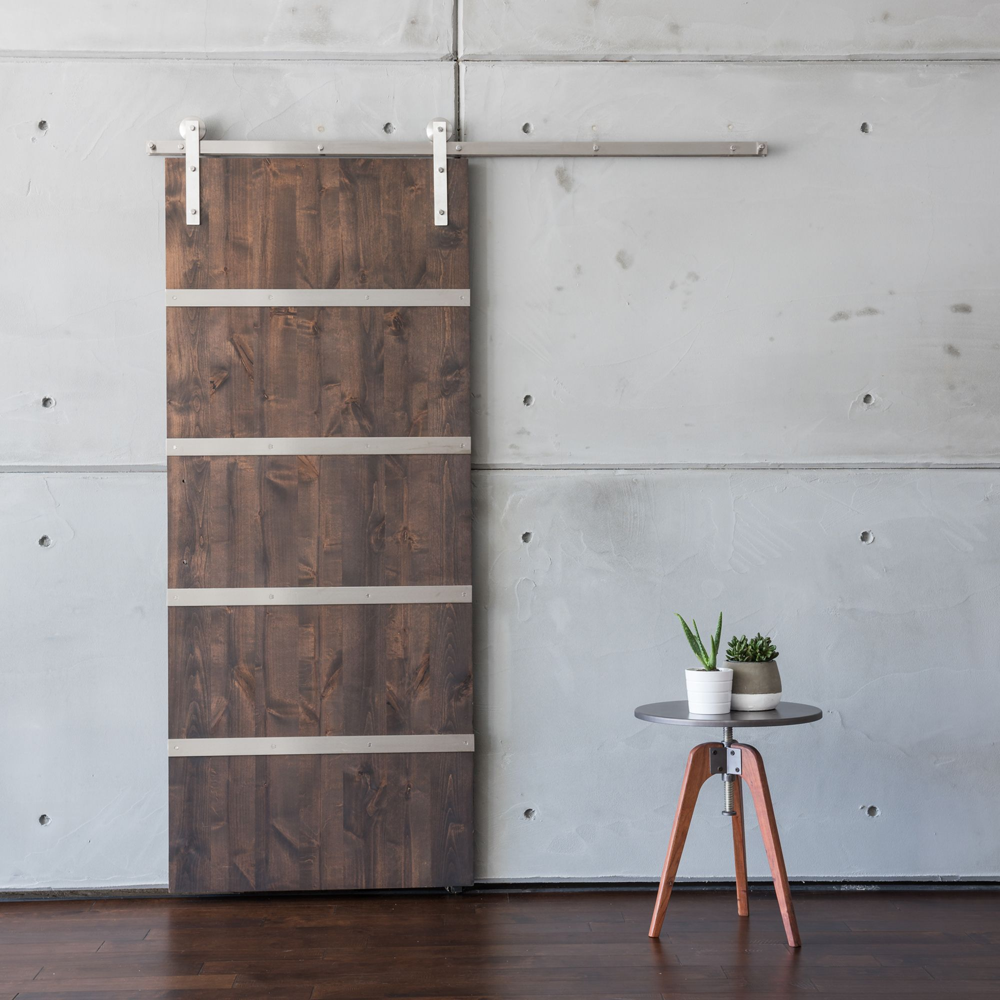 for concept door doors interior barn modern after home showing surface mounted perspective sliding depot