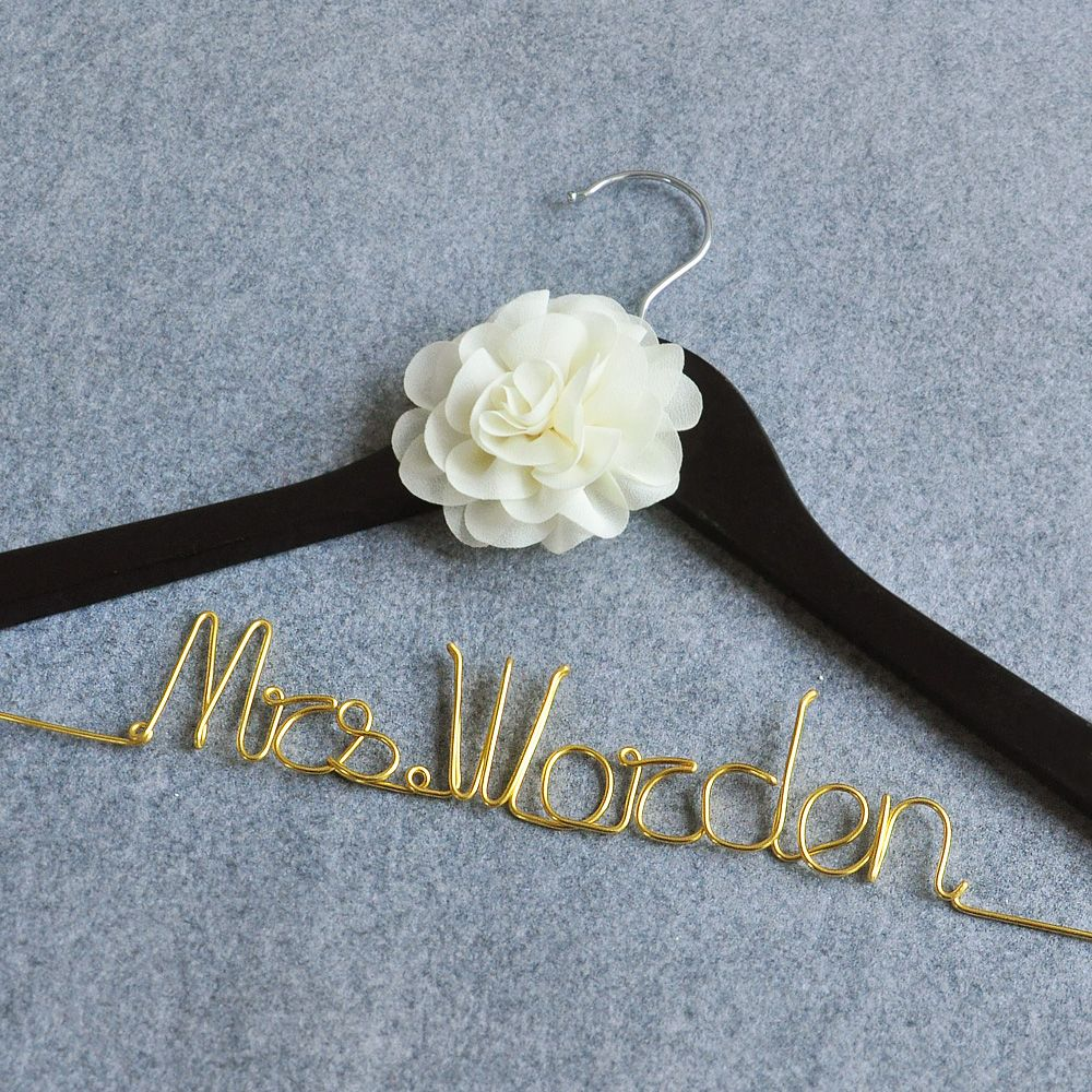 Find More Event Party Supplies Information About Free Shipping Personalized Wedding Hanger Custom Bridal