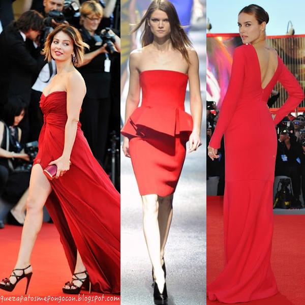 zapatos para vestido rojo largo boda – vestidos de mujer