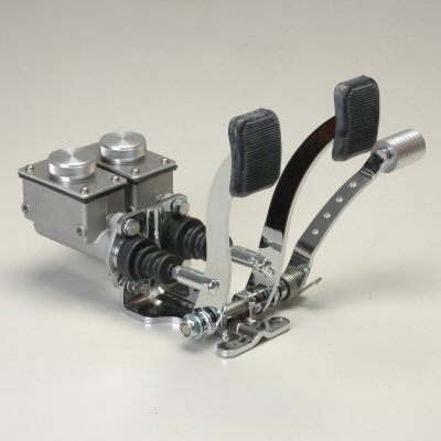 Pedal Assembly Bracket With Pedals No Reservoirs Dune Bug Buggy Sandrail Trike