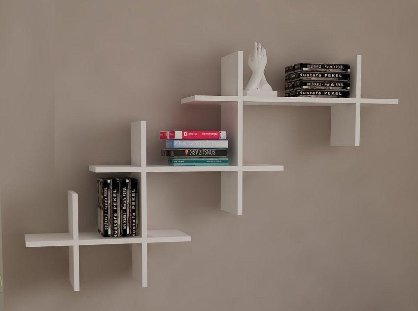 Simple Wall Storage Shelves Design Id806 Modern Storage Unit