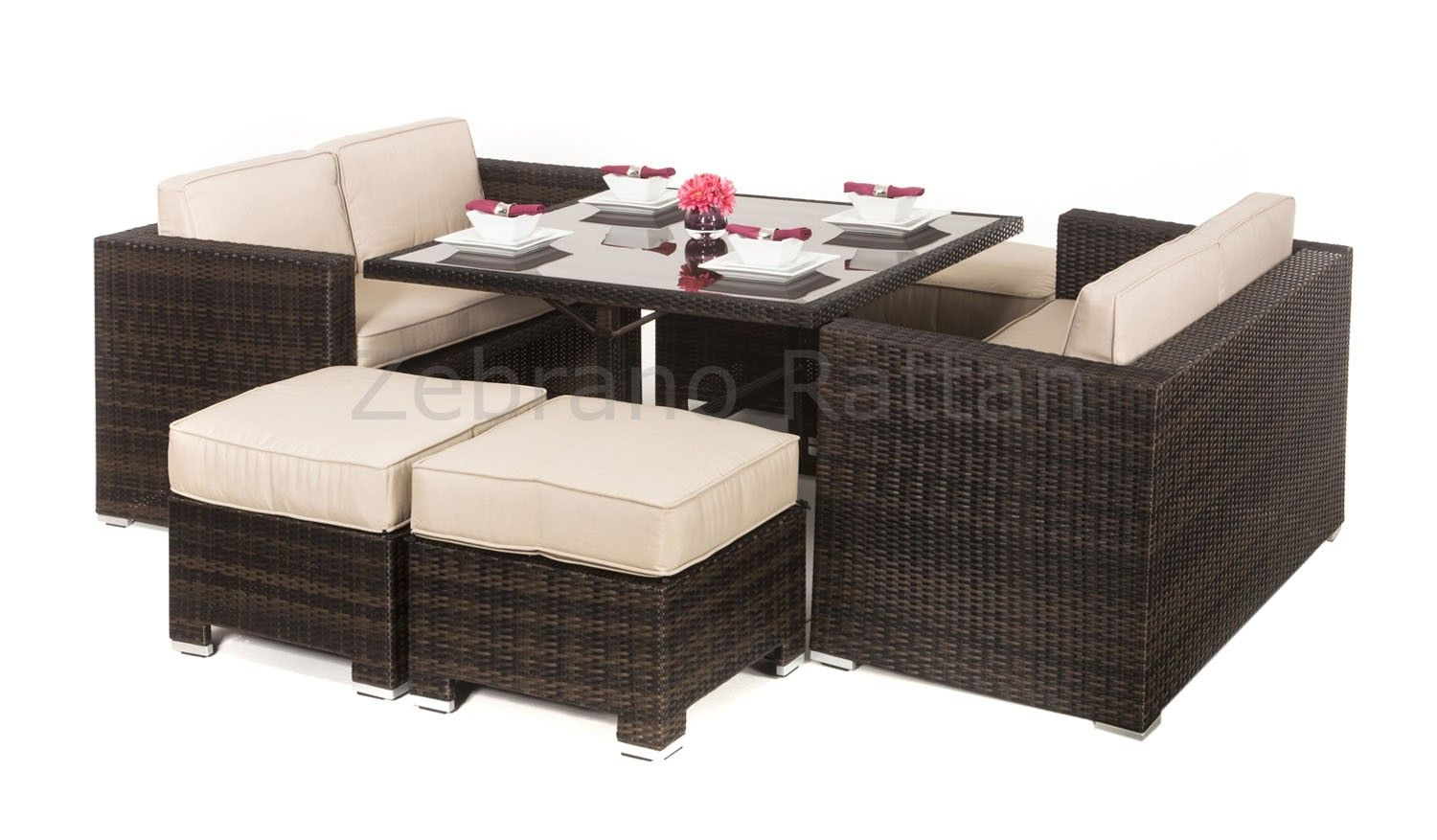 Outdoor Rattan Garden Furniture available from www