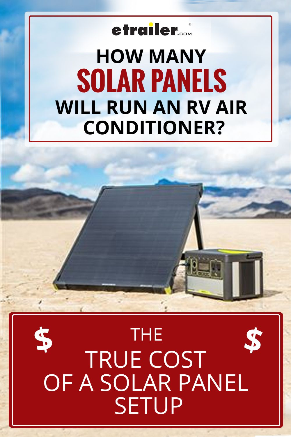 There S No Question That Solar Panels Are A Great Green Option For Supplying Power To Your Rv When Boondocking If You Do Solar Panels Solar Rv Air Conditioner