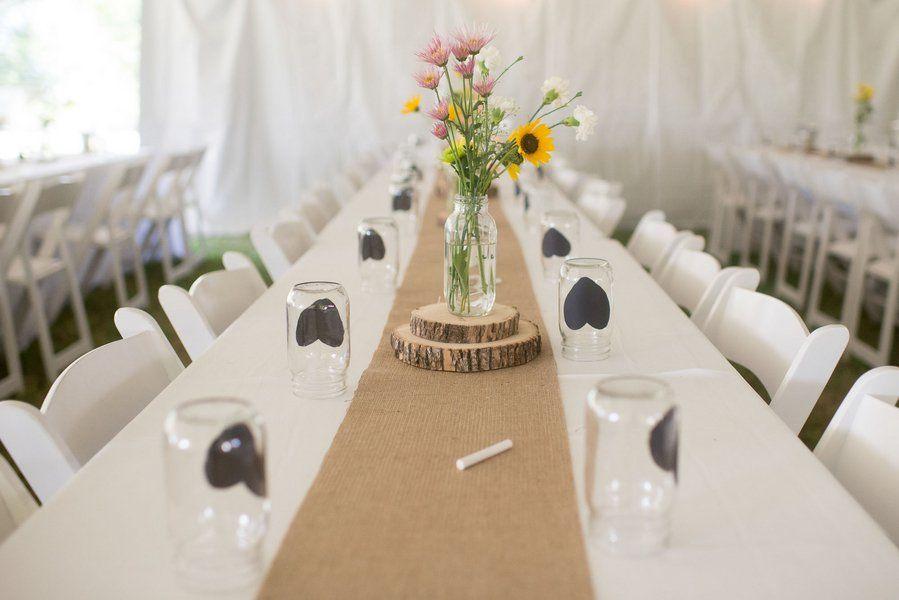 A DIY Style Backyard Wedding