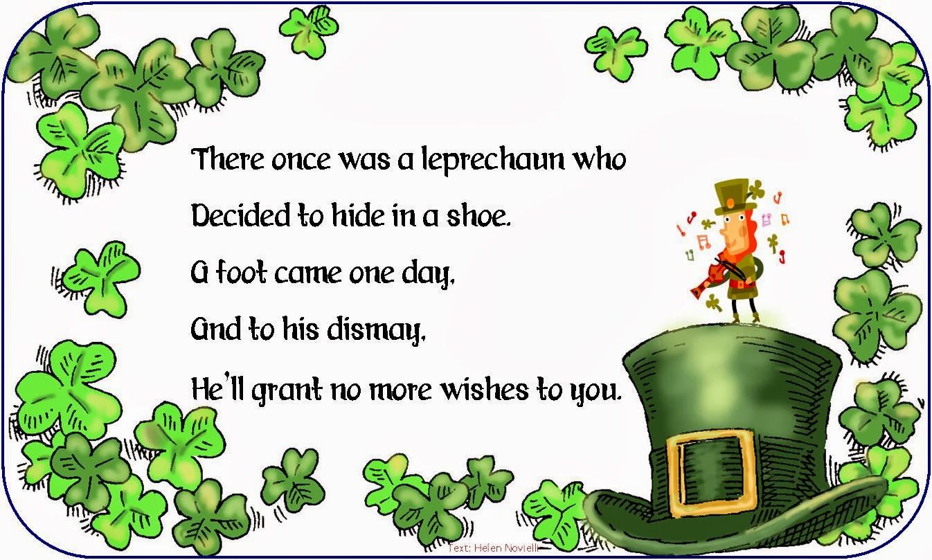 Kid Friendly Hilarious St Patrick S Day Limerick