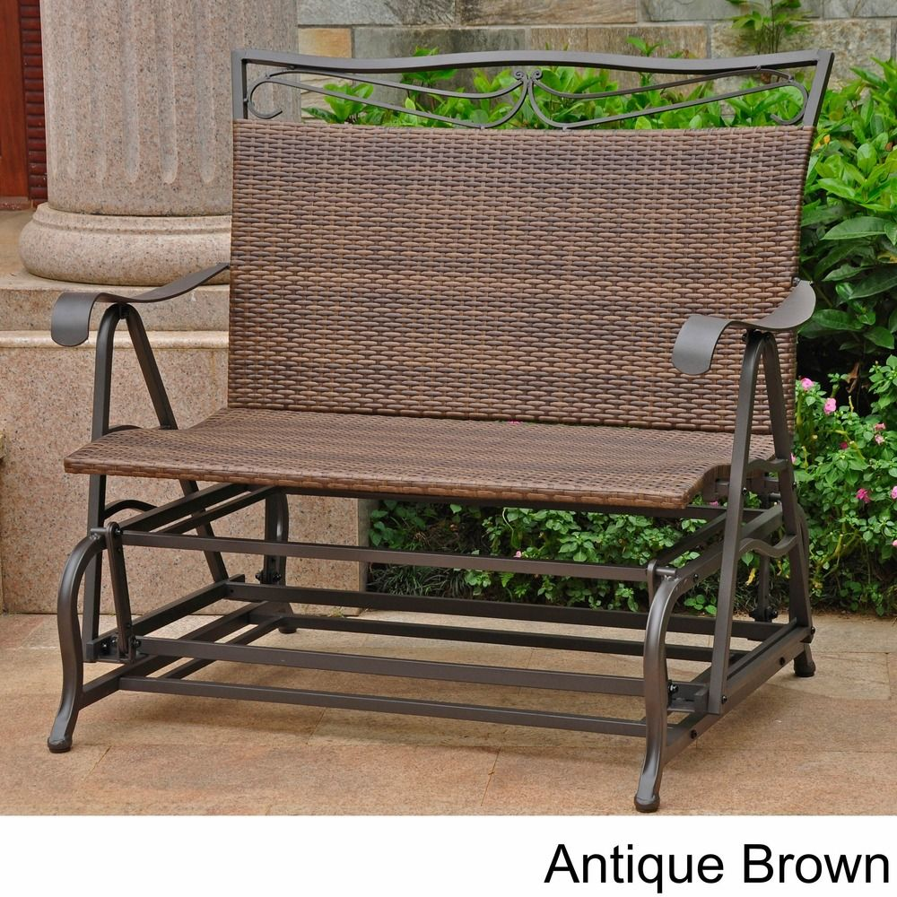 Resin Wicker Steel Frame Furniture