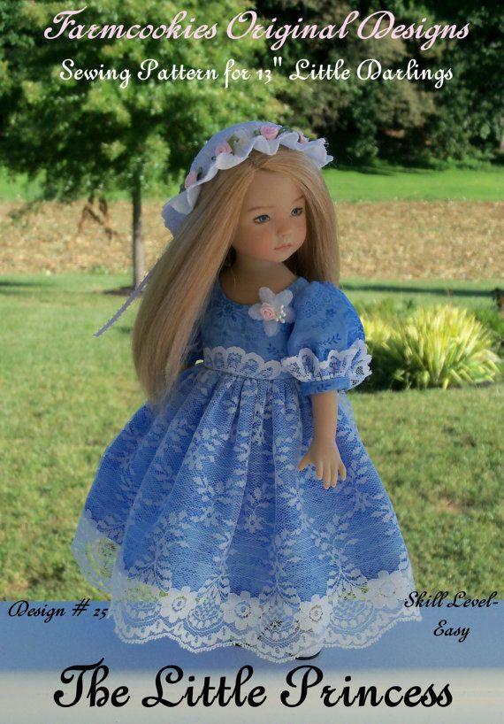PRINTED SEWING PATTERN The Little Princess / by LittleDarlingDuds ...