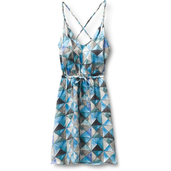 Qsw Water Dress found on Polyvore