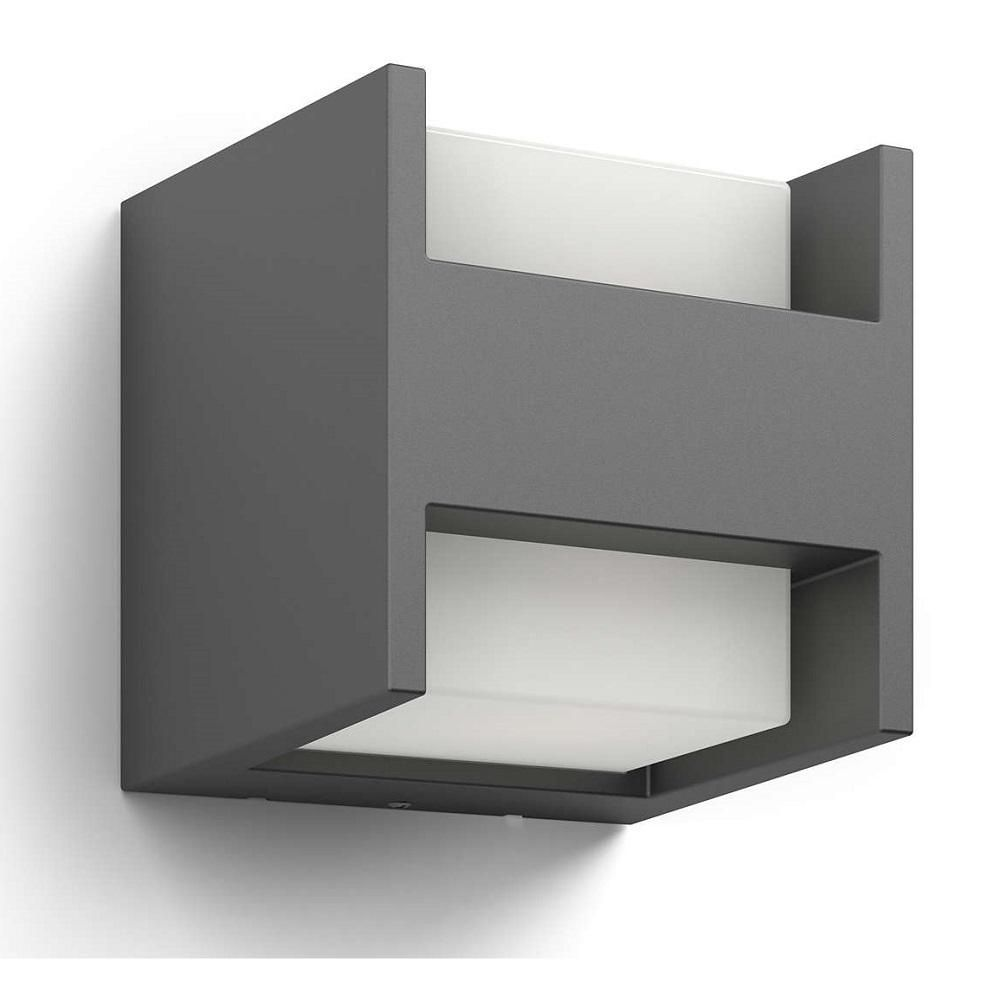 Philips 164599316 arbour anthracite led outdoor modern up down philips 164599316 arbour anthracite led outdoor modern up down wall light 164599316 aloadofball Choice Image