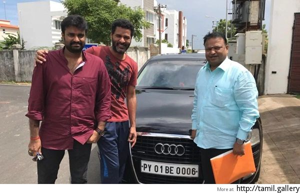 Prabhu Deva Gifts An Audi A Car To Devi Director Vijay Http - Anaudi