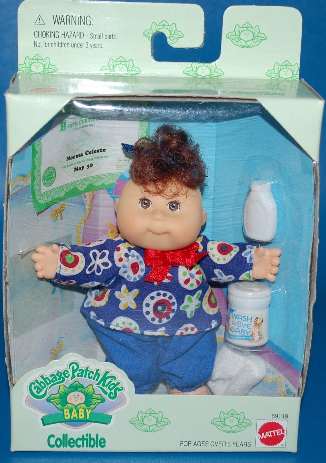 Cabbage Patch Kids Baby Collectible Norma Celeste Cabbage Patch Dolls Cabbage Patch Kids Cabbage Patch