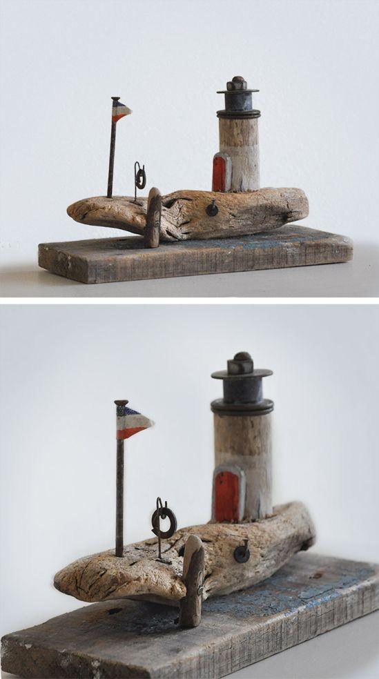 Christine Grandt  Treibholzkunst Maritime Geschenke Treibholz