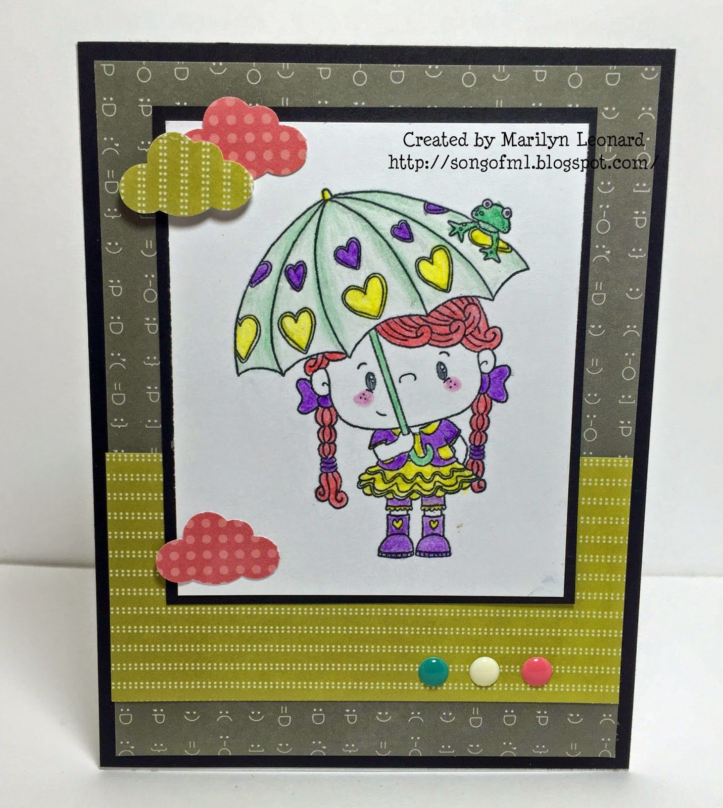 ~ Marilyn's Crafts ~: SBC February 2015 Card Kit