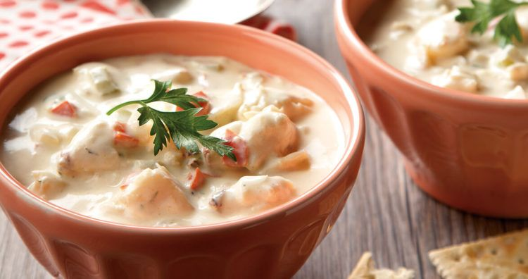 Creamy Seafood Stew #seafoodstew