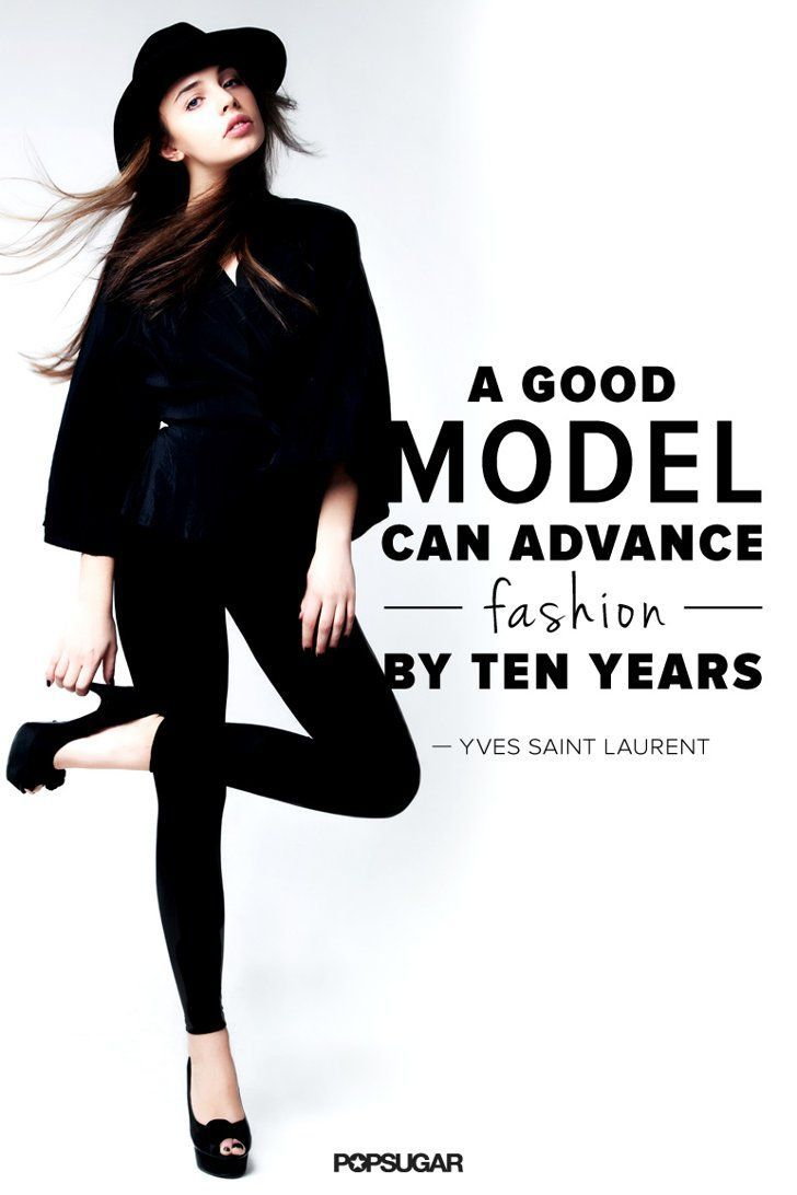 Quotes from famous fashion models