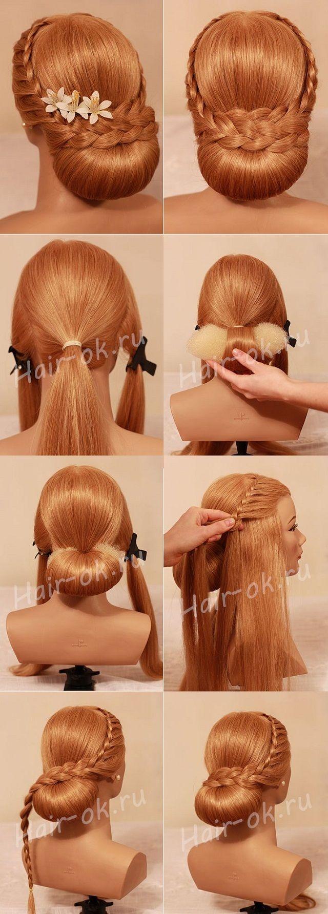 Napravi sama prekrasna svečana frizura frizure makeup