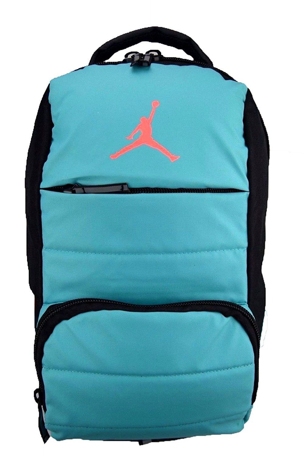 1a439fa238b5 Amazon.com  NIKE Air Jordan All World Gym Jumpman Backpack School Bag Light  Retro   Hot Lava  Sports   Outdoors