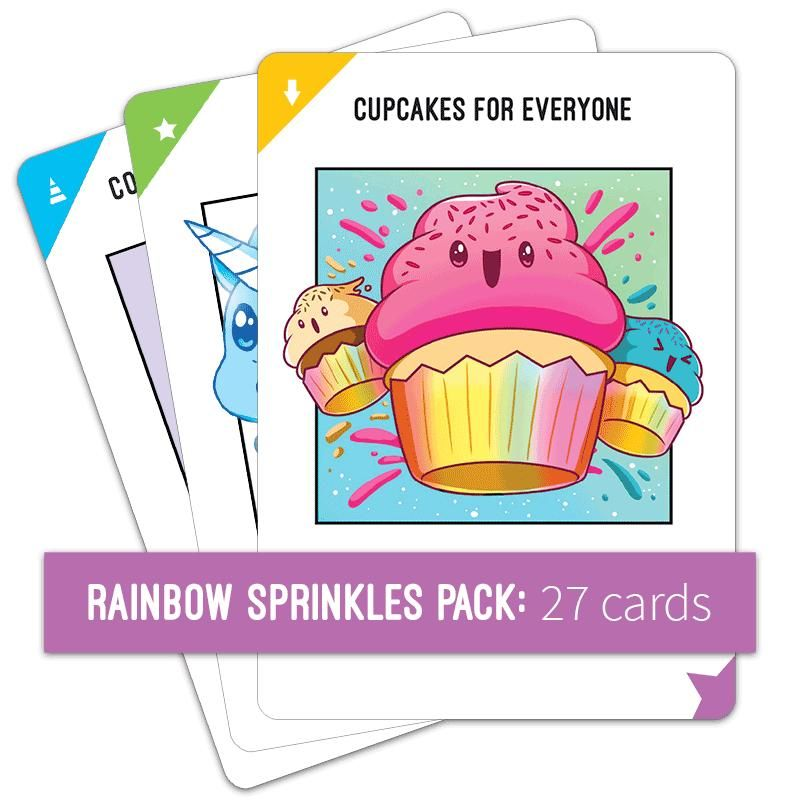 Unstable Unicorns Rainbow Sprinkles Expansion Pack Rainbow