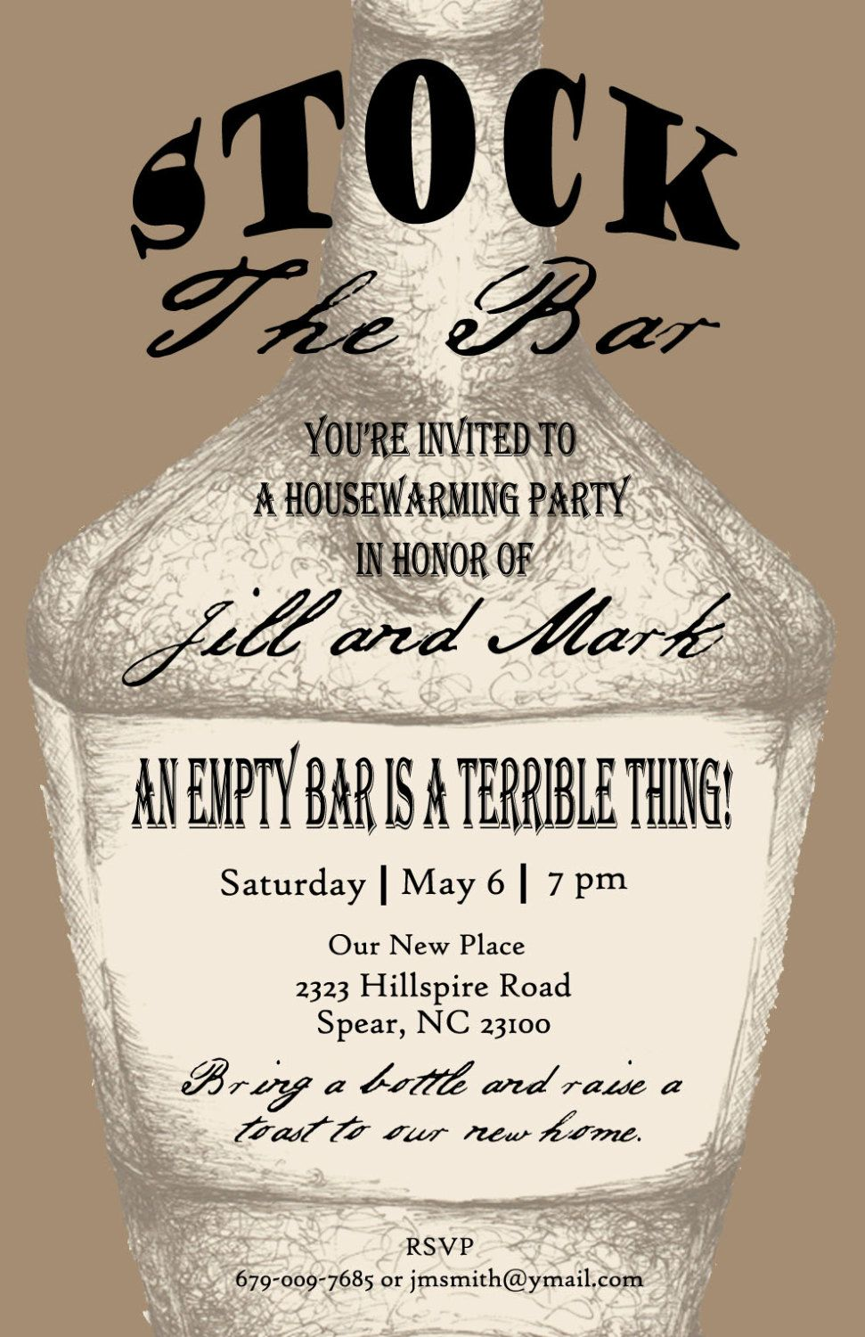housewarming party invitations for guy - Google Search ...