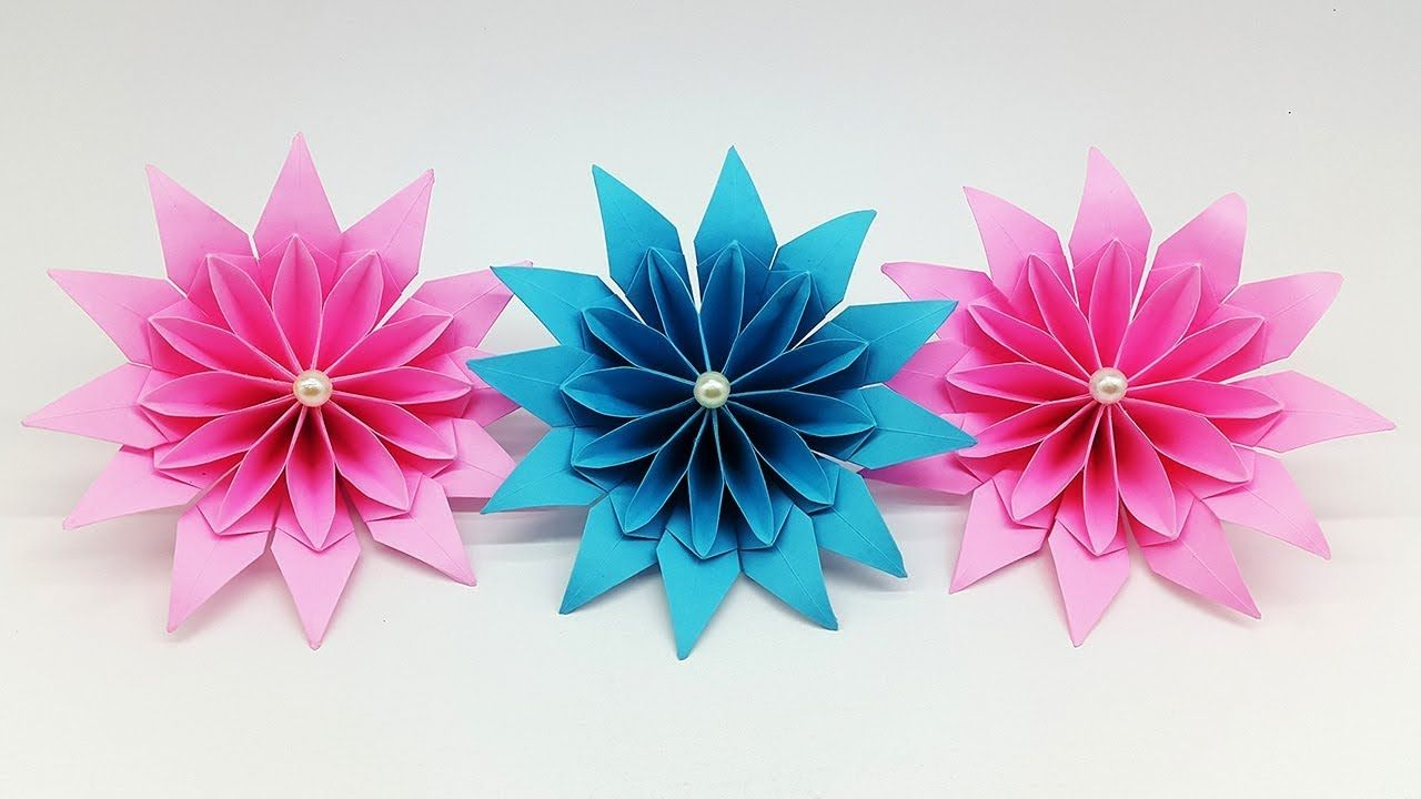 Magnificent Paper Flowers Diy Paper Flower Making Tutorial