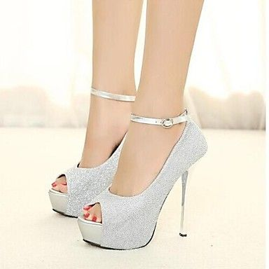 the purple ones are really nice  Women's Shoes Peep Toe Stiletto Heel  Pumps  – AUD $ 38.91
